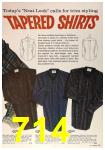 1963 Sears Fall Winter Catalog, Page 714
