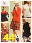 1967 Sears Fall Winter Catalog, Page 44