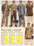 1942 Sears Spring Summer Catalog, Page 315
