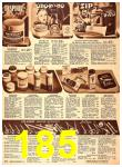 1940 Sears Fall Winter Catalog, Page 185