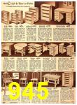 1940 Sears Fall Winter Catalog, Page 945