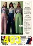 1976 Sears Fall Winter Catalog, Page 403