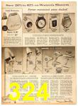 1958 Sears Fall Winter Catalog, Page 324