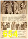 1958 Sears Fall Winter Catalog, Page 654