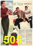 1962 Sears Fall Winter Catalog, Page 505