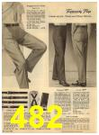 1960 Sears Spring Summer Catalog, Page 482