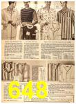 1956 Sears Fall Winter Catalog, Page 648