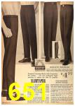 1962 Sears Fall Winter Catalog, Page 651
