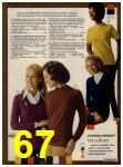 1972 Sears Fall Winter Catalog, Page 67