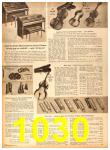 1958 Sears Fall Winter Catalog, Page 1030