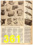 1958 Sears Fall Winter Catalog, Page 361