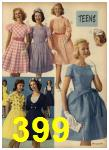 1962 Sears Spring Summer Catalog, Page 399