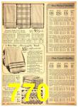 1940 Sears Fall Winter Catalog, Page 770