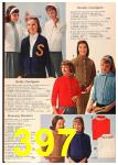 1963 Sears Fall Winter Catalog, Page 397