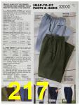 1991 Sears Fall Winter Catalog, Page 217