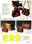 1971 Sears Fall Winter Catalog, Page 289