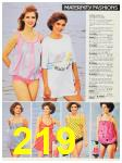 1987 Sears Spring Summer Catalog, Page 219