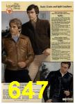 1980 Sears Fall Winter Catalog, Page 647