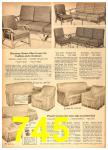 1958 Sears Spring Summer Catalog, Page 745
