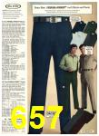 1976 Sears Fall Winter Catalog, Page 657