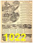 1940 Sears Fall Winter Catalog, Page 1022