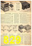 1949 Sears Spring Summer Catalog, Page 829