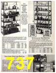 1981 Sears Spring Summer Catalog, Page 737
