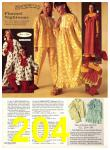 1971 Sears Fall Winter Catalog, Page 204