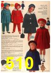 1963 Sears Fall Winter Catalog, Page 510