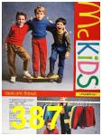 1987 Sears Fall Winter Catalog, Page 387