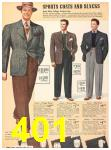 1940 Sears Fall Winter Catalog, Page 401