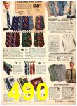 1940 Sears Fall Winter Catalog, Page 490
