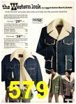 1975 Sears Fall Winter Catalog, Page 579