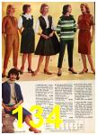 1962 Sears Fall Winter Catalog, Page 134