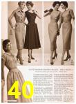 1957 Sears Spring Summer Catalog, Page 40