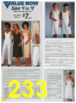 1985 Sears Spring Summer Catalog, Page 233