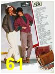1985 Sears Fall Winter Catalog, Page 61