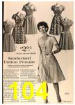 1964 Sears Spring Summer Catalog, Page 104