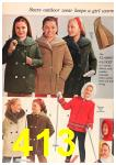 1963 Sears Fall Winter Catalog, Page 413