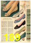 1958 Sears Spring Summer Catalog, Page 189