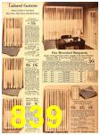 1940 Sears Fall Winter Catalog, Page 839
