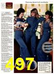1978 Sears Fall Winter Catalog, Page 497