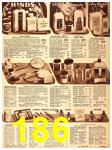 1940 Sears Fall Winter Catalog, Page 186