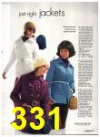 1971 Sears Fall Winter Catalog, Page 331
