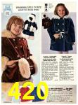 1978 Sears Fall Winter Catalog, Page 420