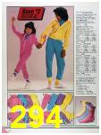1986 Sears Fall Winter Catalog, Page 294
