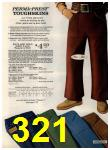 1972 Sears Fall Winter Catalog, Page 321