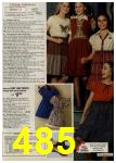 1979 Sears Fall Winter Catalog, Page 485