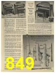 1965 Sears Fall Winter Catalog, Page 849