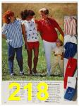 1987 Sears Spring Summer Catalog, Page 218